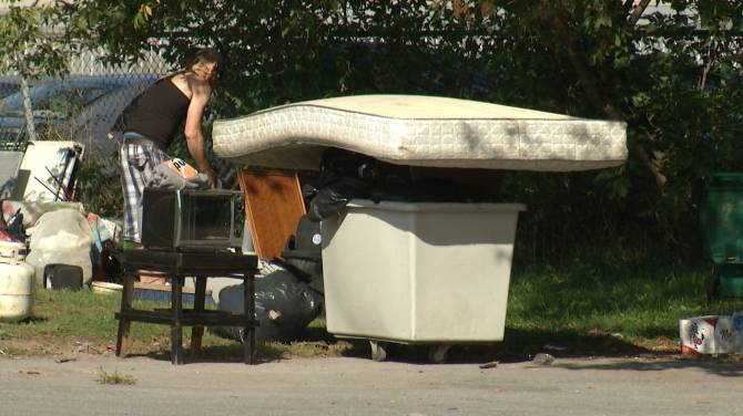 Homeless camp leaves Kingston business owner frustrated