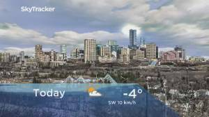 Edmonton early morning weather forecast: Monday, January 20, 2020