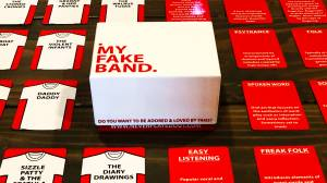New music-inspired card game pokes fun at band names