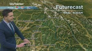 Kelowna Weather Forecast: December 1 (03:45)
