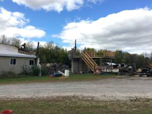 Community supports family who lost home to farm fire (02:22)