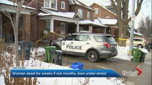 Toronto police charge 17-year-old boy with 2nd-degree murder of mother