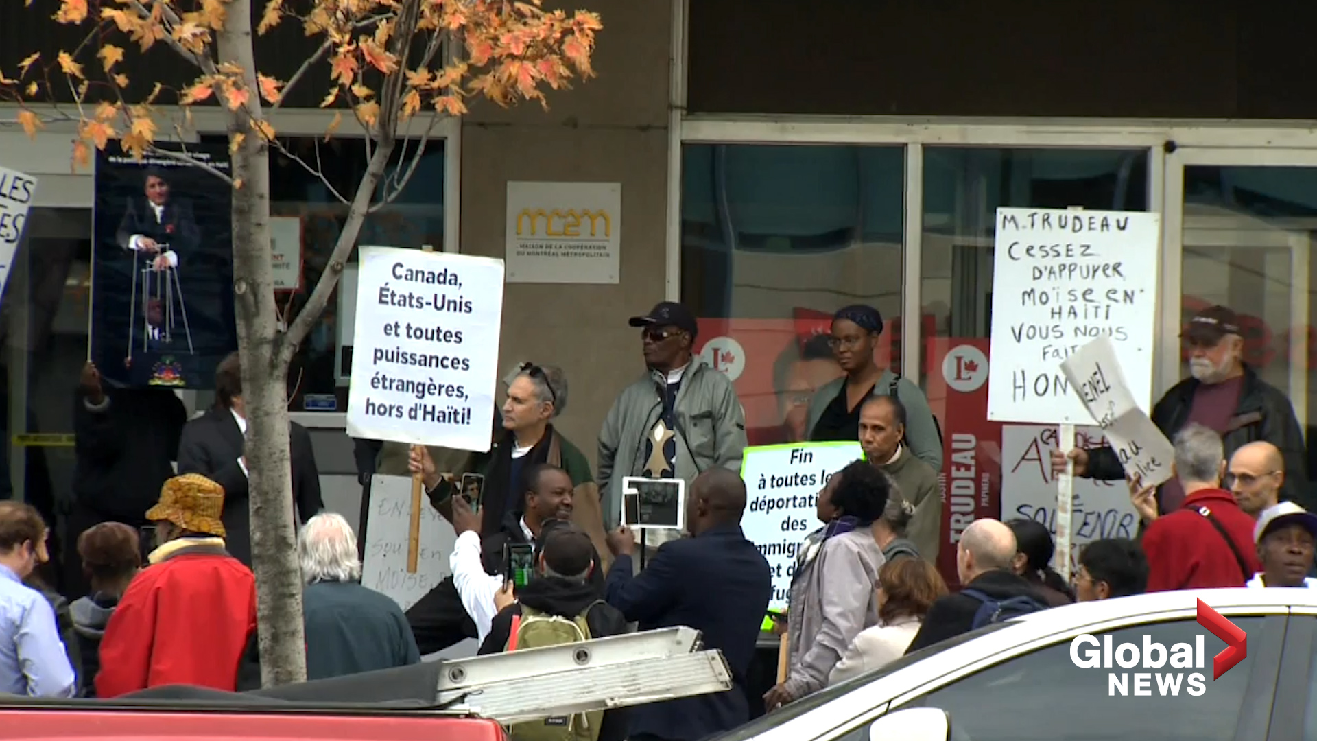 Montreal protesters demand that Canada take action against Haitian Government