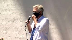 Scottsdale Councilman Guy Phillips protests face masks by saying 'I can't breathe'