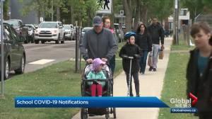 Edmonton Catholic Schools to notify families of COVID-19 exposures (01:33)