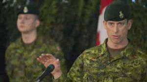 Senior military officer removed from new role reviewing misconduct in Canadian Forces (02:13)
