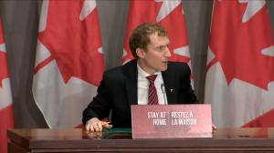Coronavirus outbreak: Federal ministers comment on Nunavut's first confirmed case of COVID-19
