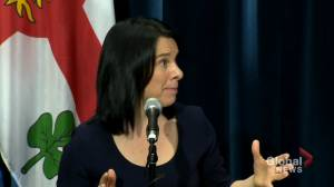 Montreal Mayor stands firm on tent cities as she announces new rapid housing projects (02:05)
