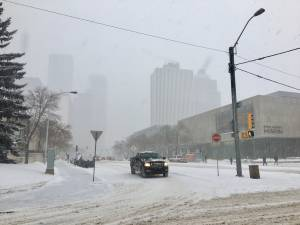 Seasonal parking ban coming following Edmonton snowfall