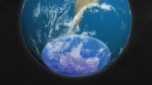 Antarctic ozone hole now at its smallest