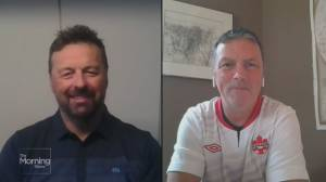 Olympic dads talk cheering on their daughters in Canada's women soccer team ahead of the big game (05:05)