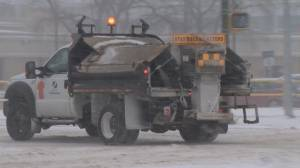 City of Saskatoon prepared for blizzard (01:28)