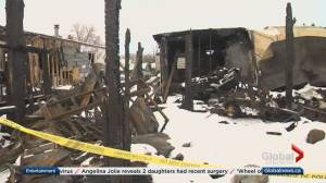 Boy dies in hospital after mobile home fire in Red Deer County