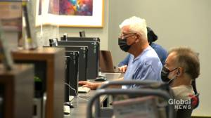 Helping Quebec seniors with COVID-19 vaccine passport (01:57)
