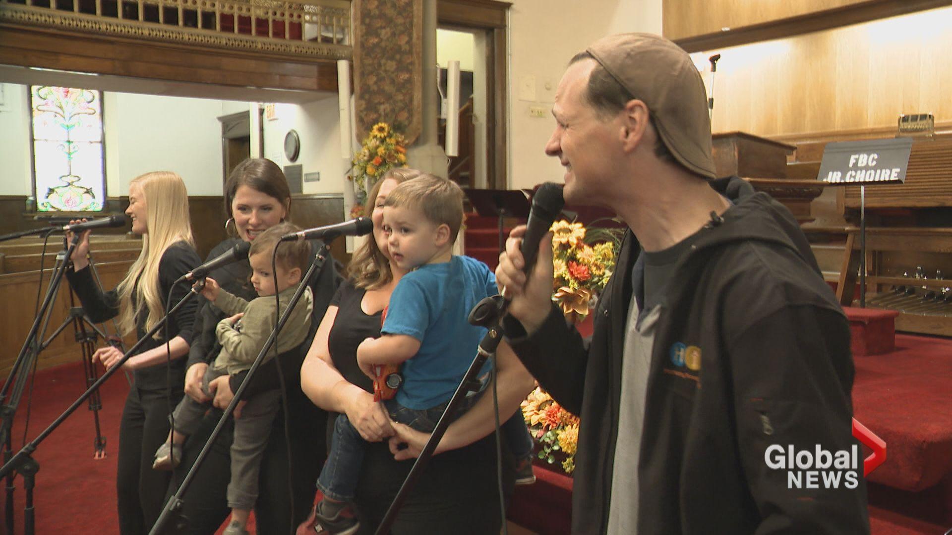 Calgary choir organizes city's first World Singing Day event
