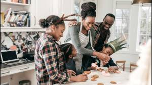 Creating holiday traditions with kids