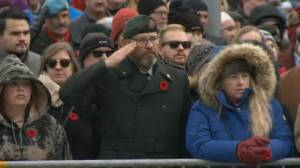 Canadian veterans endure past and present pain on Remembrance Day