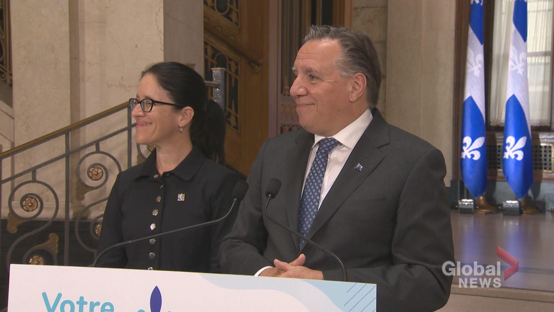 Quebec premier unveils his federal election wish list