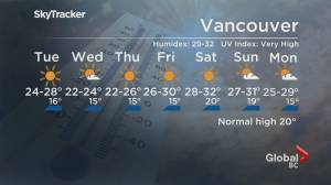B.C. evening weather forecast: June 21 (01:55)