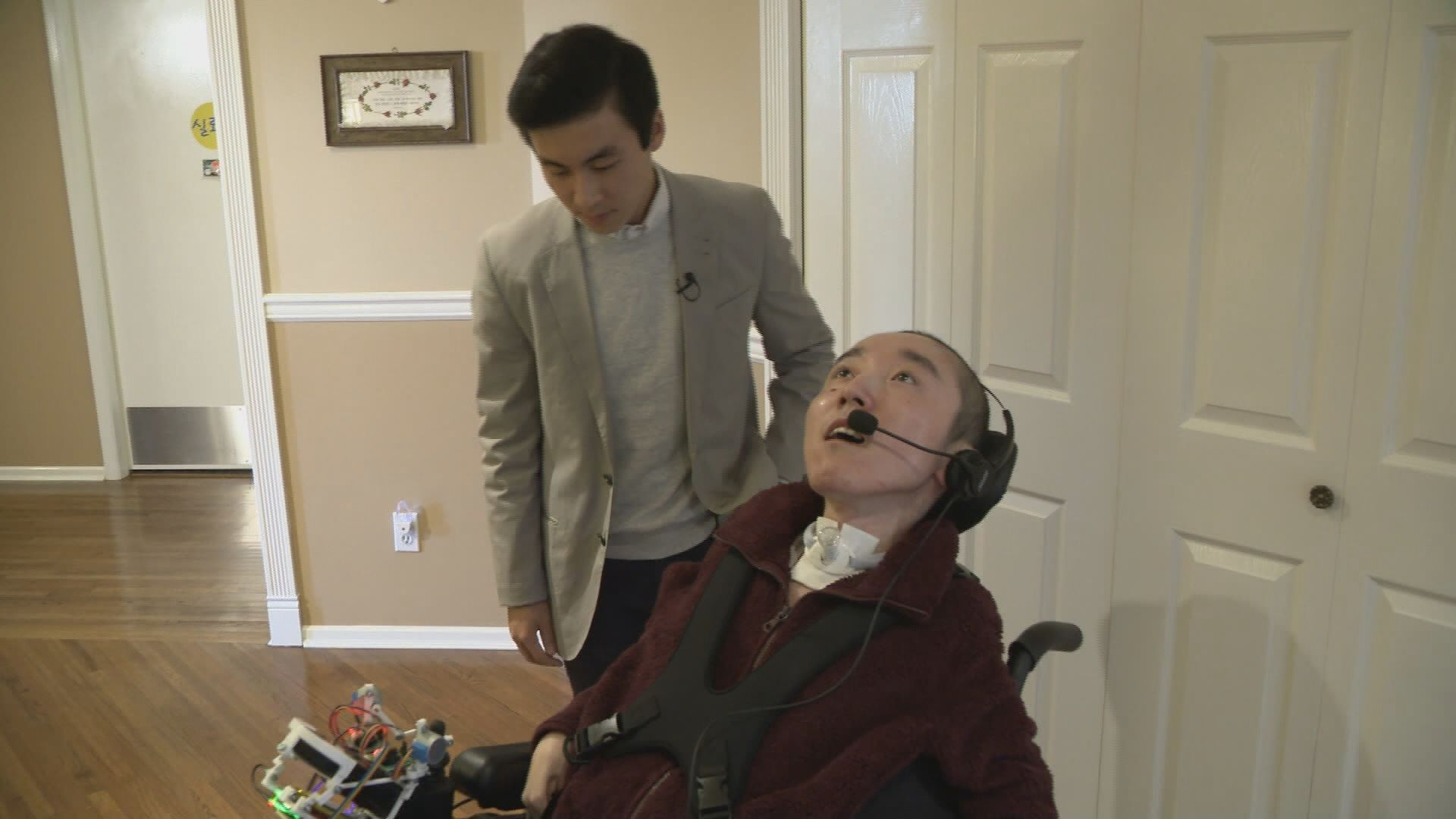 UBC student's invention helps his special needs brother