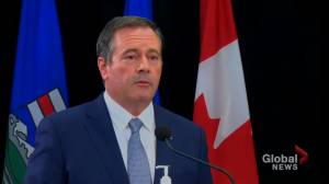 Kenney explains delay in asking feds for help during Alberta's COVID-19 4th wave (00:24)