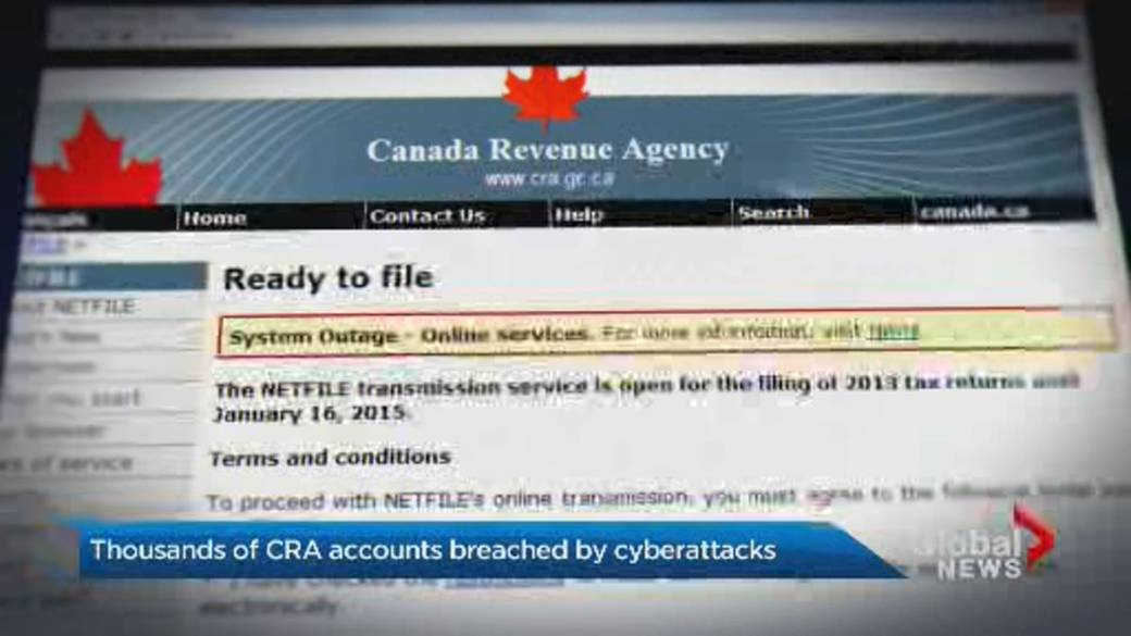 Hackers Targeted Thousands Of Cra Government Service Accounts In Credential Stuffing Attacks National Globalnews Ca