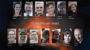 13 Hours: Inside the Nova Scotia Massacre 'Stolen Dreams' (01:00)