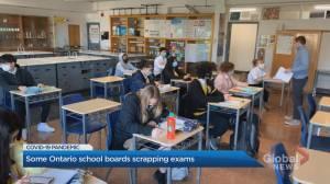 Some Ontario schools scrap high school final exams amid COVID-19 pandemic (02:09)