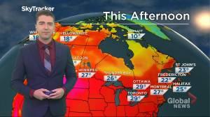Saskatchewan weather outlook: July 19 (02:38)