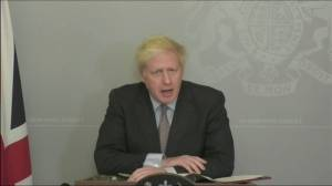 U.K. Prime Minister Boris Johnson says he won't ask for Brexit extension (01:38)