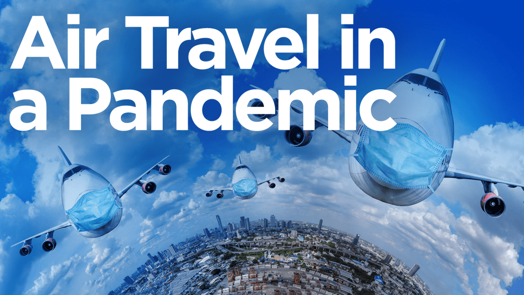 Click to play video 'Coronavirus: How safe is air travel during the pandemic?'