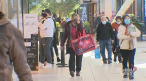 COVID-19: Black Friday brings new safety measures at Calgary malls (01:41)