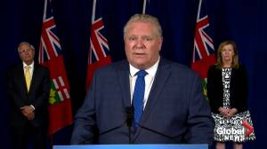 Backlash mounting over Premier Doug Ford's comments on racism in Canada