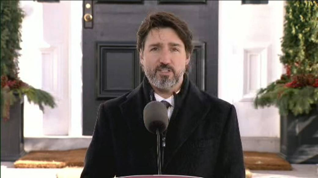 Click to play video 'Coronavirus: Trudeau says Canada working to ensure equitable access to vaccines'