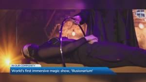 Experience magic up close at the immersive 'Illusionarium' show (04:26)