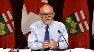 COVID-19: Ontario will take 'slow and steady approach' for removal of restrictions, Moore says (02:16)