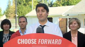 Federal Election 2019: Trudeau questioned on debt spending, release of a costed platform