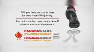 Local bladder cancer survivor talks awareness walk (05:43)