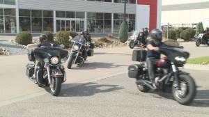 Charity motorcycle ride honors Penticton man murdered in Kamloops (02:22)
