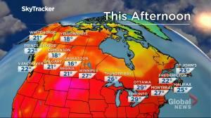 Winnipeg weather outlook: July 19 (02:00)