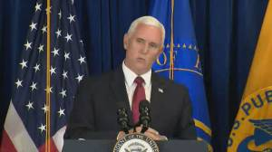 Coronavirus: Pence says U.S. fatalities at lowest level since end of March