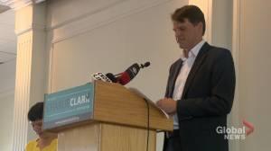 Saskatoon Mayor Charlie Clark announces re-election bid