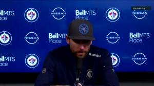 RAW: Blake Wheeler speaks after 5-3 loss to Leafs (02:43)