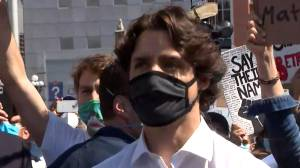 George Floyd protests: Justin Trudeau attends anti-racism protest on Parliament Hill