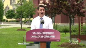 Lytton, B.C. wildfires: Trudeau offers message of support to community (02:05)