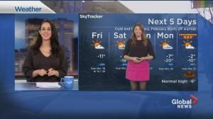 Global News Morning weather forecast: Friday January 29, 2021 (01:49)