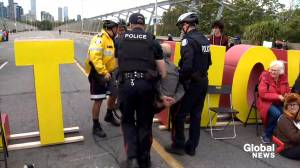 Extinction Rebellion protesters arrested in Toronto