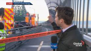 Protesters block Jacques Cartier Bridge