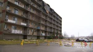 Wind gusts destroy 2 Saint John buildings