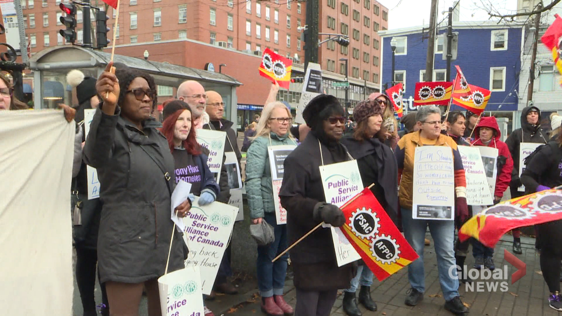 Bryony House workers call for immediate temporary shelter